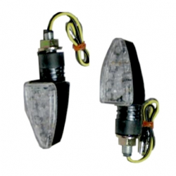 Short LED Carbon Look Turn Signals