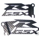 GSXR Cut Out Heel Guards